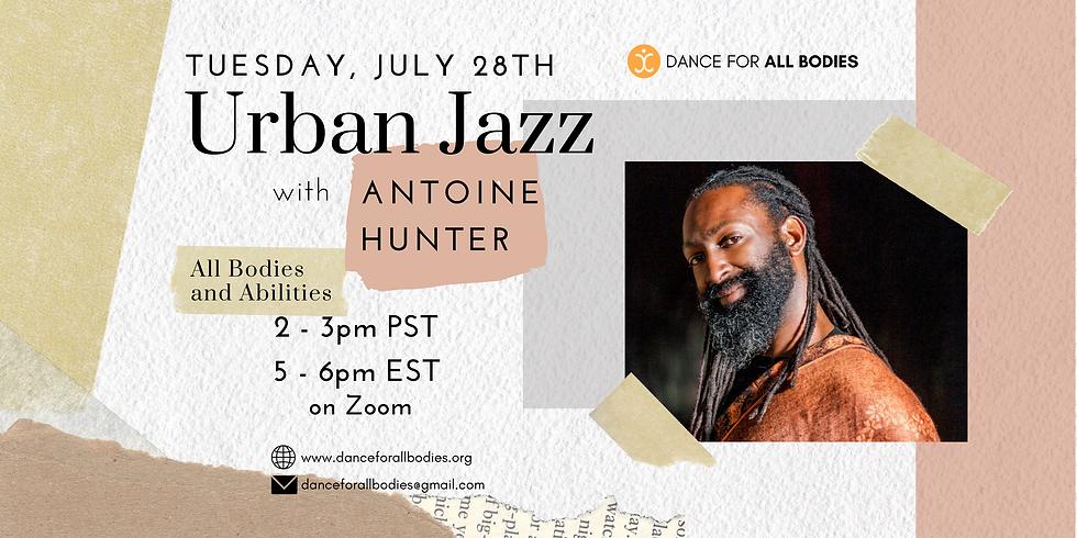 All Abilities Urban Jazz Dance Company Class (Virtual)