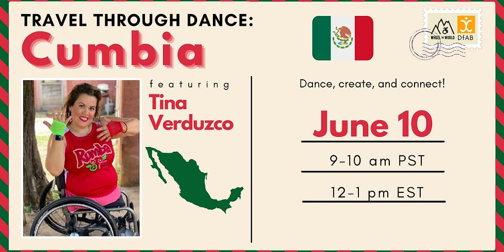 Travel Through Dance: Cumbia with Tina.