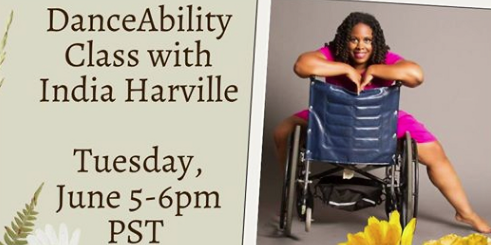 Virtual DanceAbilities Class by India Harville