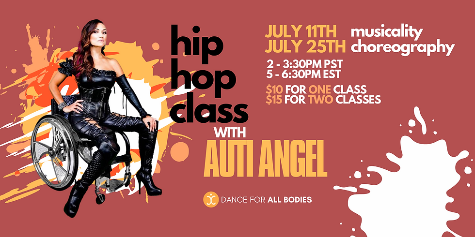 Virtual Hip Hop Class with Auti Angel