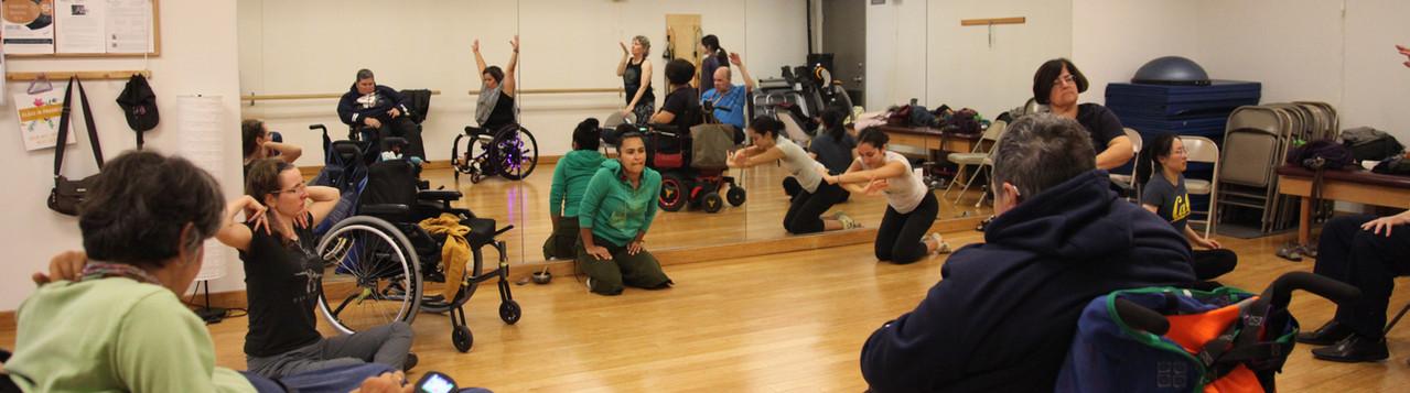 Stephanie's Improv Dance Class