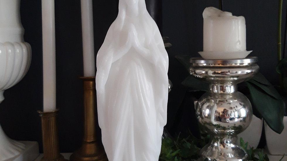 vierge ciergerie des prémontrés blanche