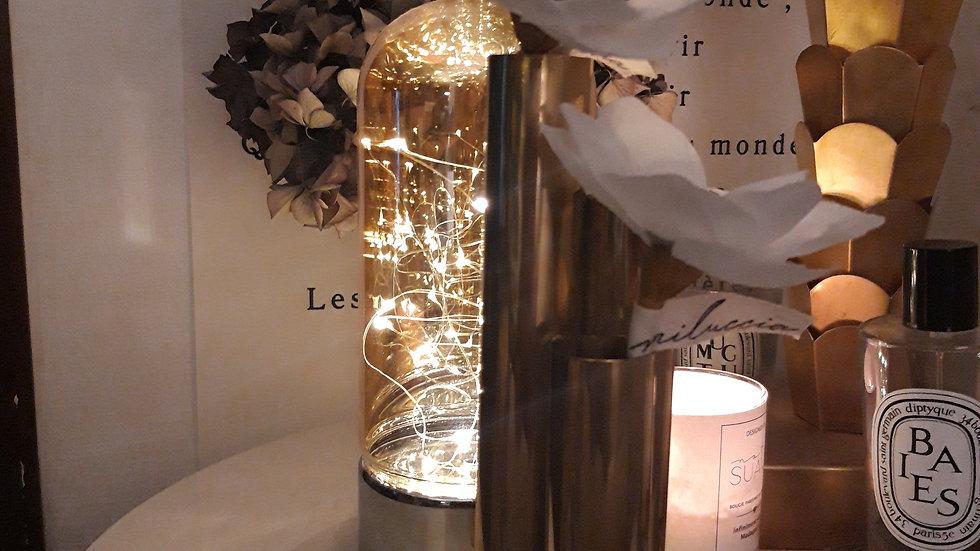 Vase soliflore laiton doré