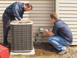 Hvac Contractor On AC