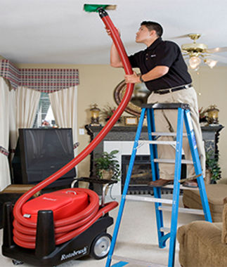 Hvac Contractor Cleaning