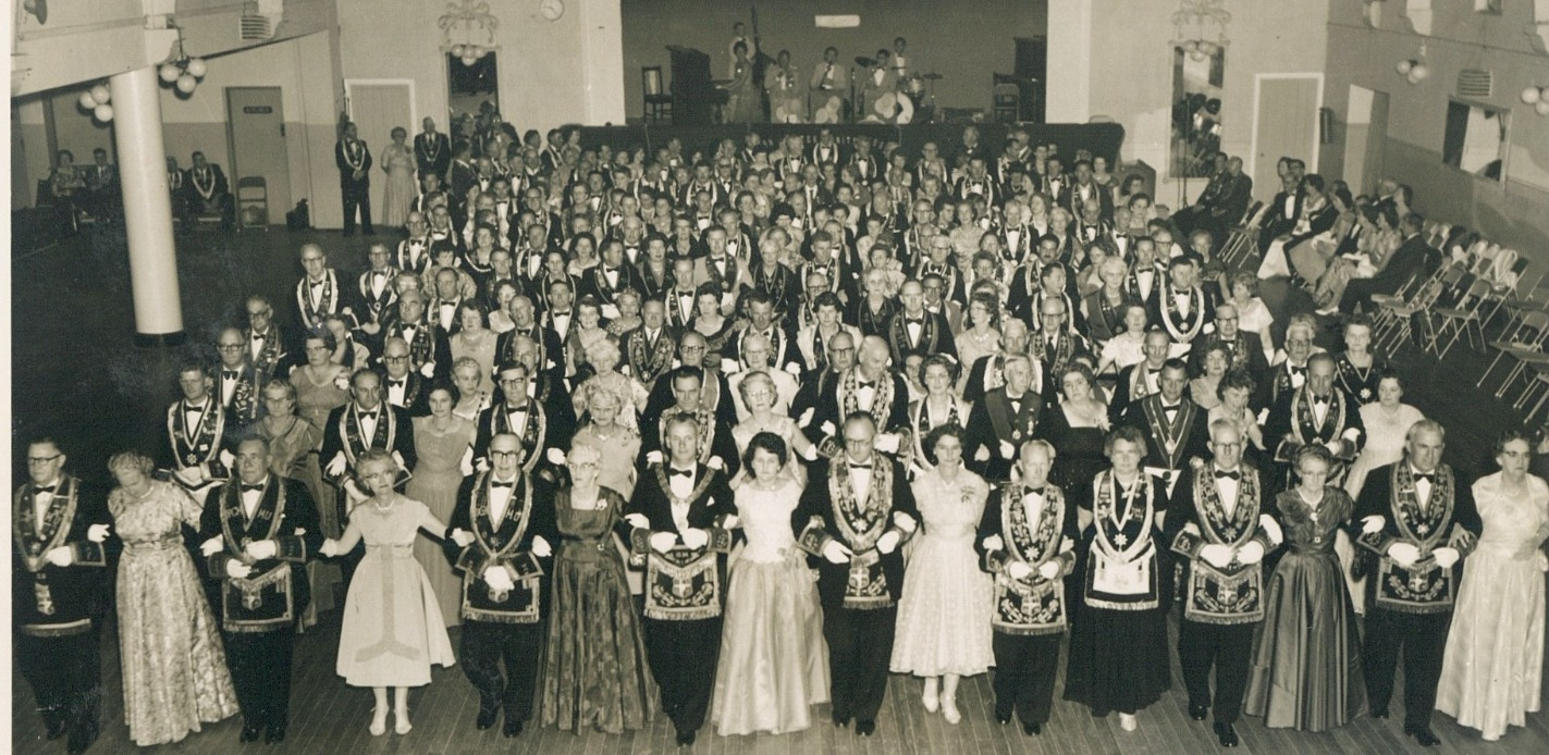 1961 Albury Society Ball GM Robert Hannington