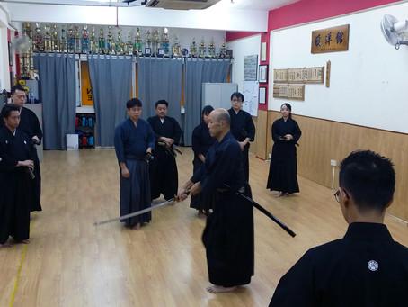 Last set of photos from Matsumoto Sensei's Keiko session