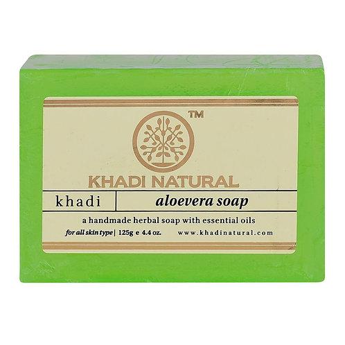 ALOEVERA SOAP KHADI NATURAL
