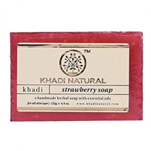 STRAWBERRY SOAP KHADI NATURAL