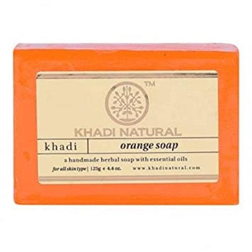 ORANGE SOAP KHADI