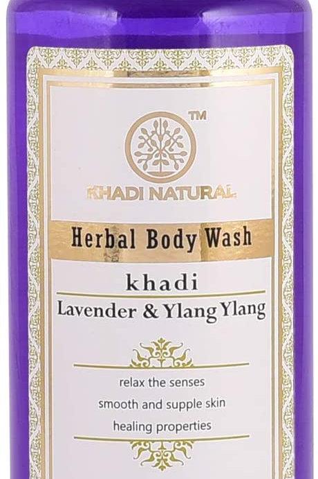 LAVENDER & YLANG BODY WASH 210M KHADI