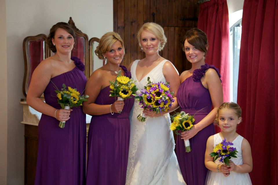 Emma and bridesmaids