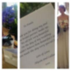 Bride Sunday's Bride Alyson who tied the