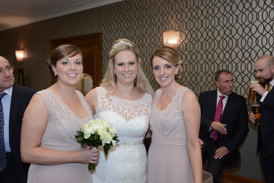 Gemma & bridesmaids Roker hotel