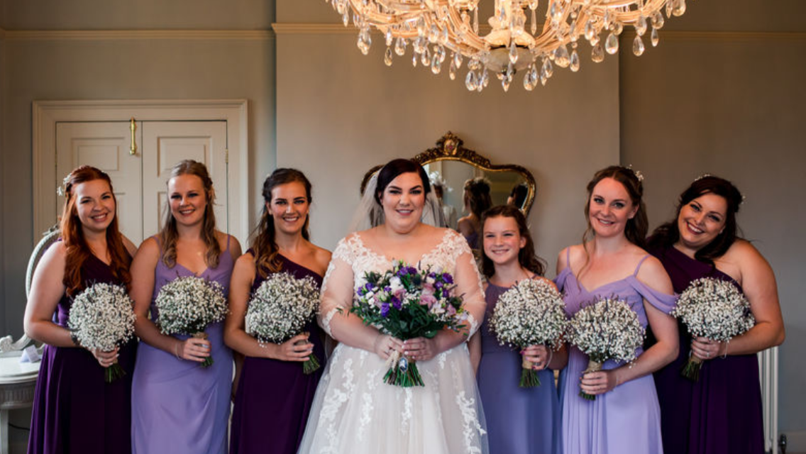 Natasha and her bridesmaids