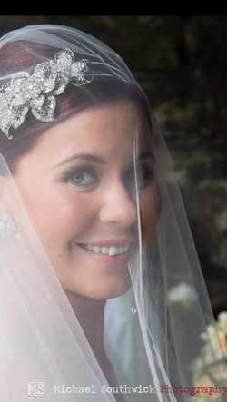 Beautiful Bride Airbrush Makeup