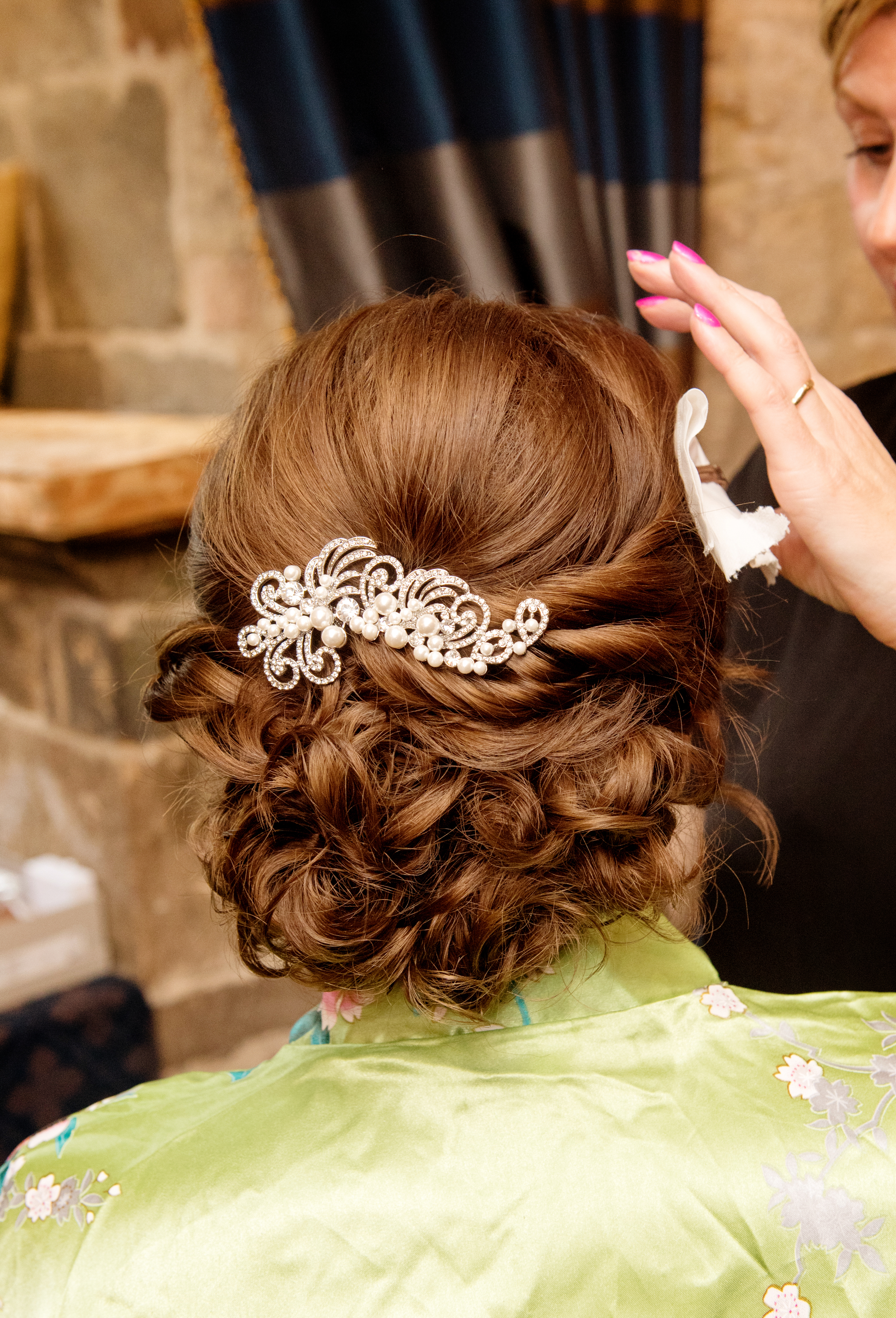 Bridal hair by Simone Whitehead