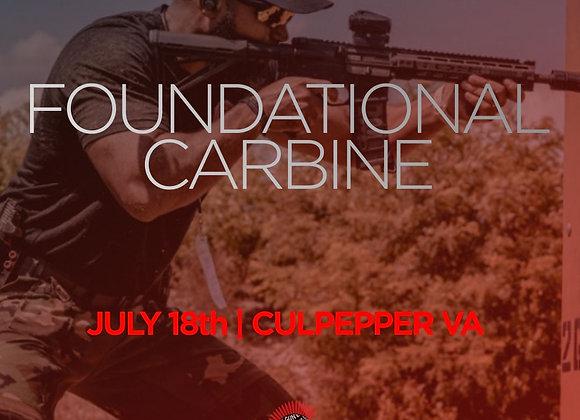 Foundational Carbine