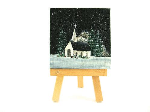 Silent Night Mini Canvas