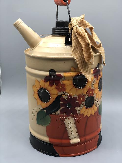 Sunflower Harvest Oil Pot