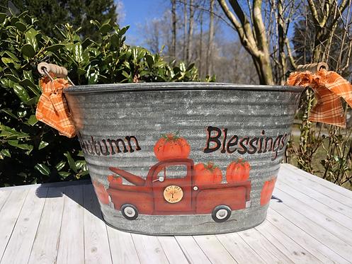 Autumn Blessing Bucket