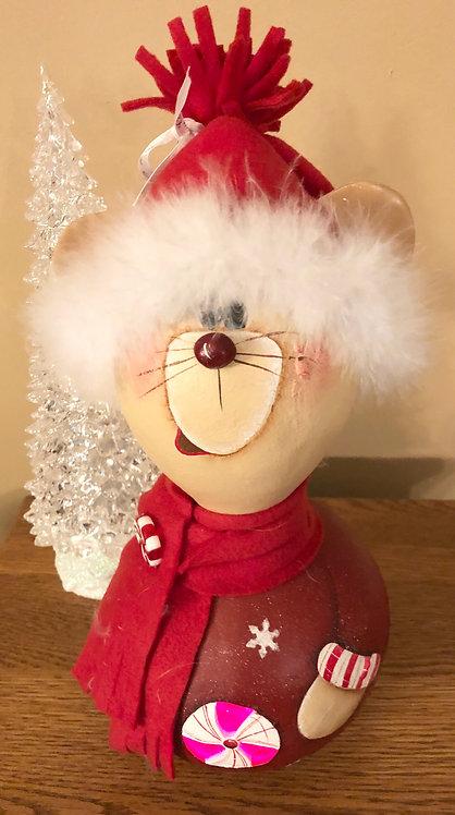 Santa Mouse Gourd