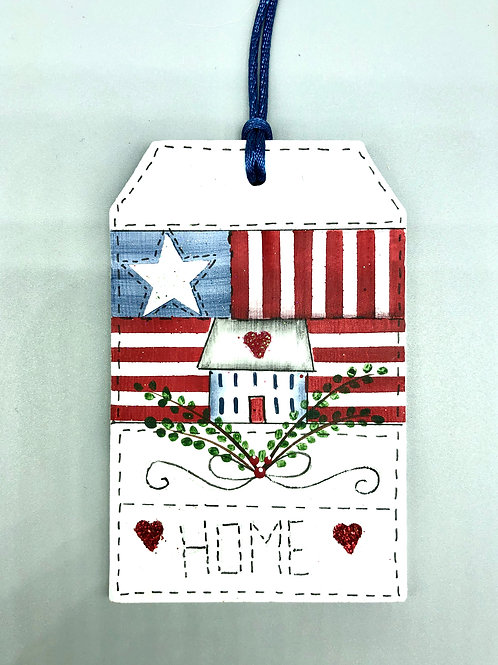 Americana HOME Ornament
