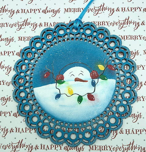Snowed In Ornament