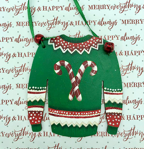 "Candy Cane ""Ugly"" Sweater"