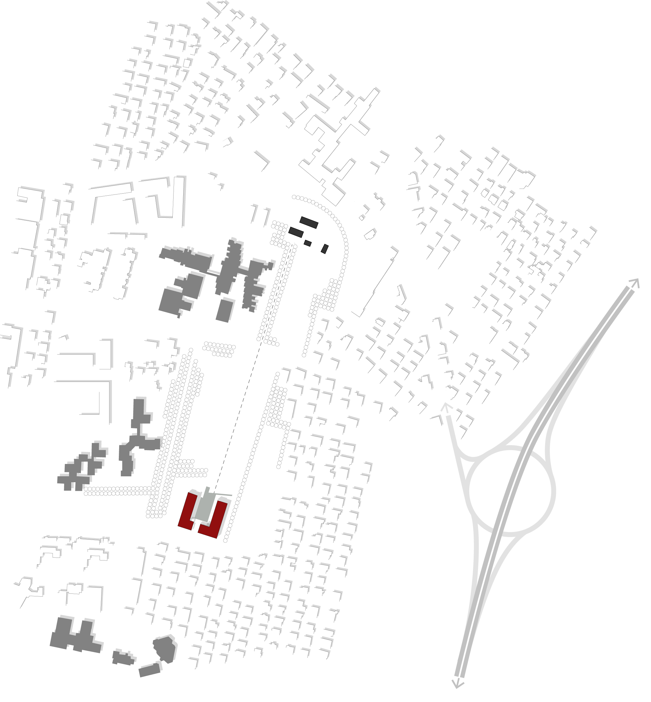 plan of the project area