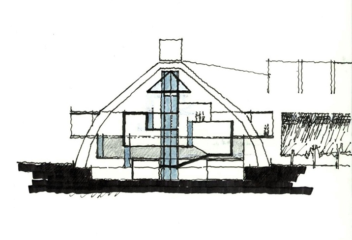 the project concept: cross section