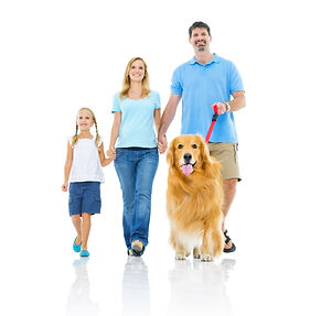 Happy Family Walking  with Dog.jpg