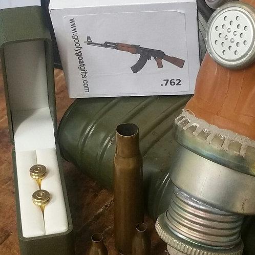 7.62 x 39  AK47 Bullet case cufflinks