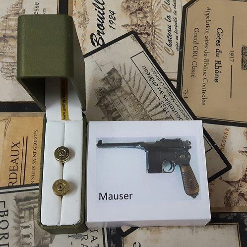 7mm Mauser Bullet Cufflinks