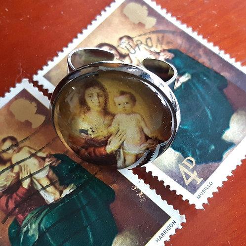 1967 British Stamp Ring