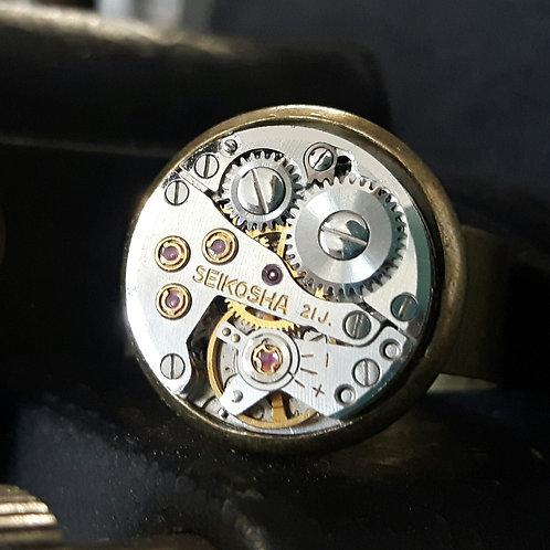 Vintage Watch Ring