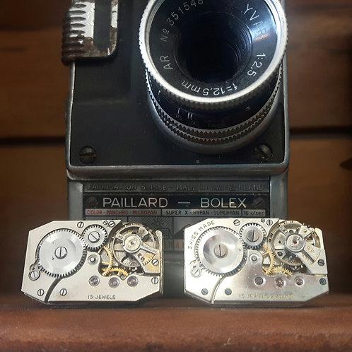 Vintage Ebauches Trust Watch Cufflinks