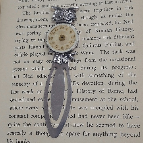 Owl Watch Face Bookmark