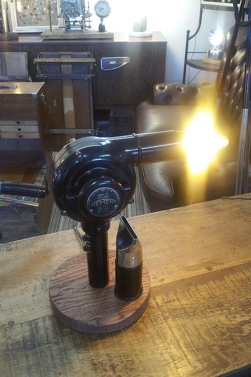 Vintage Bakelite Hairdryer Lamp