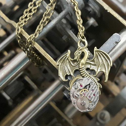 Dragon Vintage Watch Pendant
