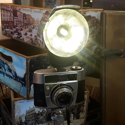 Vintage Baldessa Camera Floor/Table Lamp