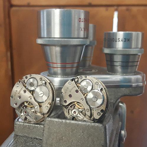 Vintage Winco Watch Movement Cufflinks