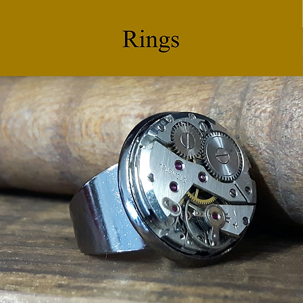 Vintage Watch Rings