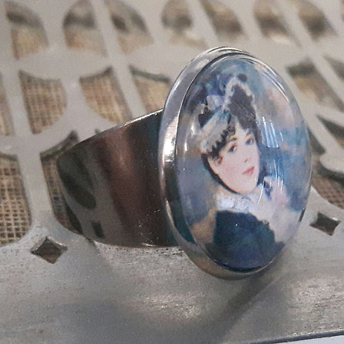 Vintage 1974 Guernsey Stamp Ring