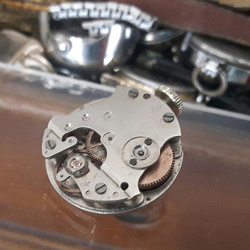Vintage Watch Movement Brooch