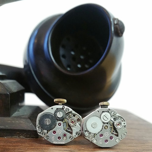 Vintage Junghans Watch Movement Cufflinks