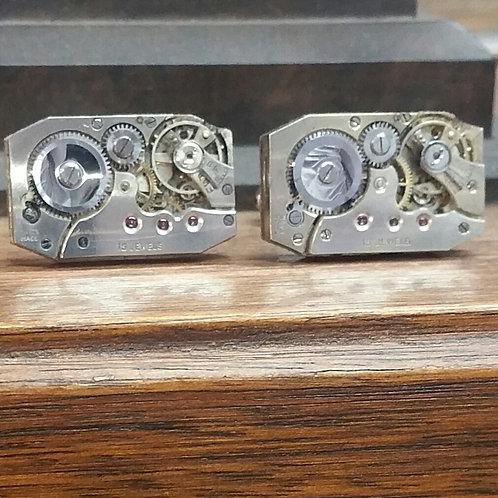 Vintage 1950's A Schild Watch Cufflinks