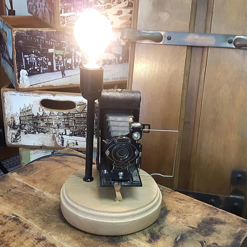 Vintage 1930's Mayfair Camera Desk Lamp