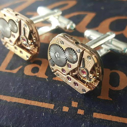 Vintage 244 Omega Watch Cufflinks