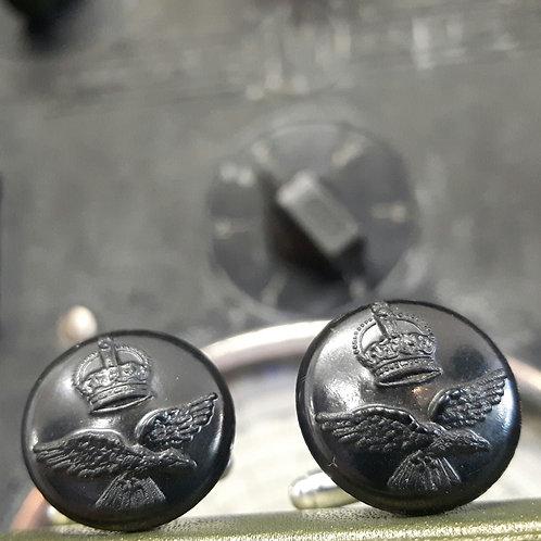 World War 2 RAF Button Cufflinks
